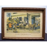 """The Arrival of the Christmas Guests"" Vintage Limited Edition Print"