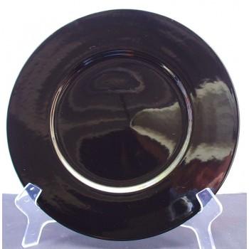 Mikasa Indigo Black Charger Plates