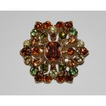 Liz Claiborne Vintage Autumn Jewels Brooch