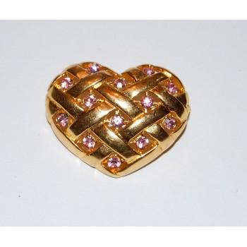 Lianna Corp. Heart Brooch