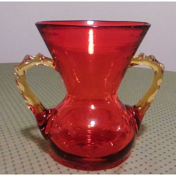 Blenko Amberina Pitcher